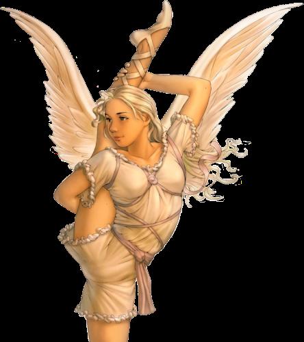gif :ange de la souplesse