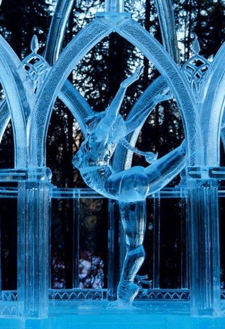 gif : divers image danseuse en glace