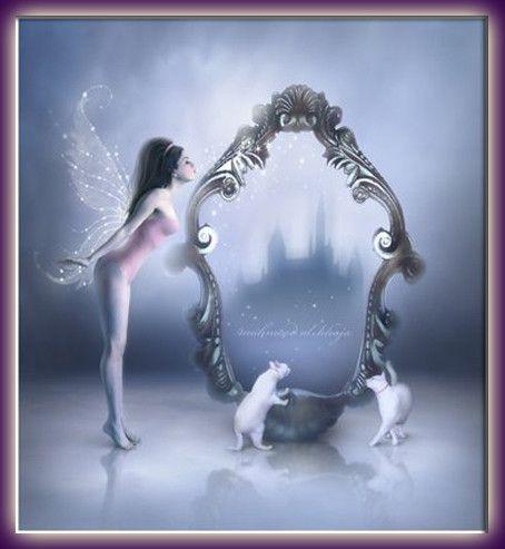 Gif elfe devant le miroir for Derniere volonte devant le miroir