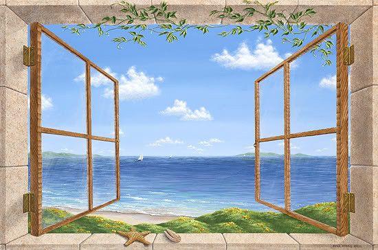 Gif fen tre ouverte mer for Fenetre ouverte sur paysage