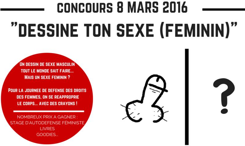 Dessine moi un     (sexe de femme concours 8 mars)