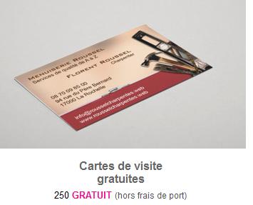 Astuces Faire Des Cartes De Visites Gratuites