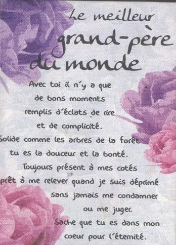 Bonne Fete Grand Pere Images Textes