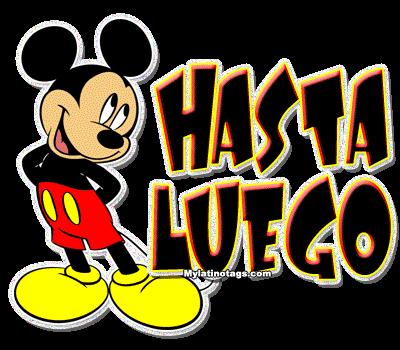 Bon Vendredi HASTA-LUEGO-DE-MIKY-MOUSE