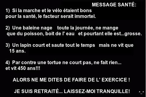 Conseil Dun Retraité Images Texte Humour