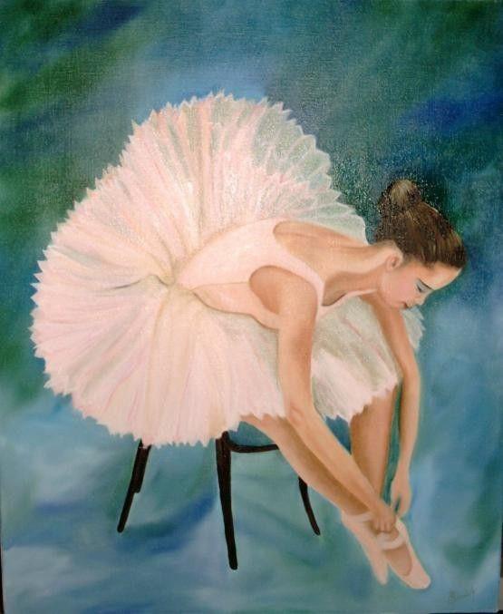 gif : dessin danseuse classique