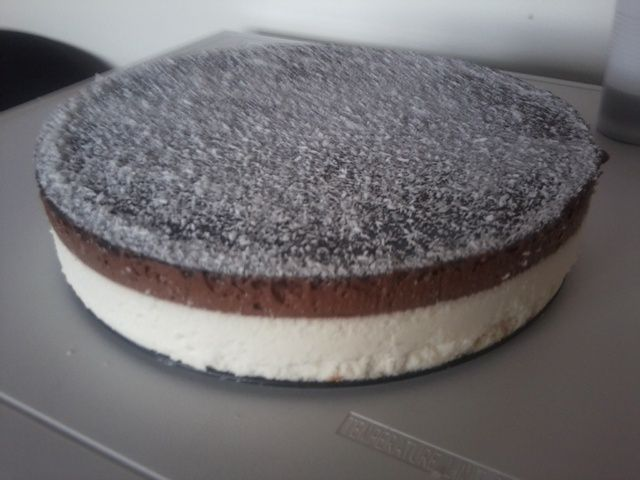 Rainbow Cake Chocolat Noir Papillons
