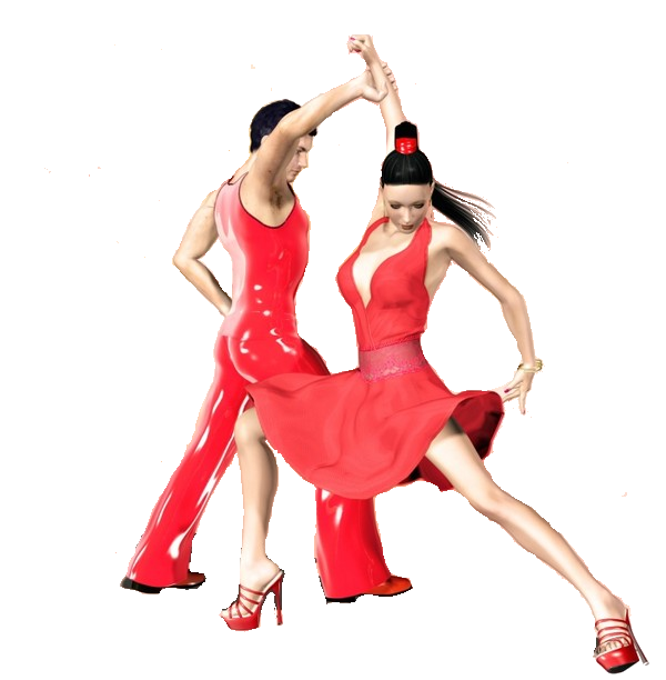 gif :divers,couple danseurs
