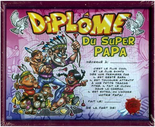 Preview - Diplome du super papa a imprimer gratuit ...