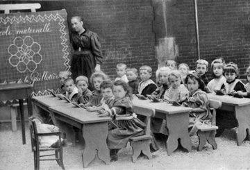 L 39 cole d 39 autrefois - Image d ecole maternelle ...