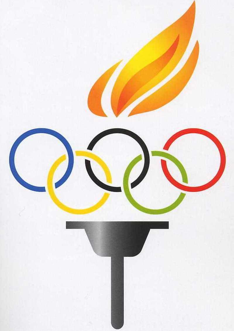 Histoire des jeux olympiques - Flamme olympique dessin ...