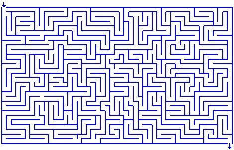 L comme labyrinthes - Labyrinthe difficile ...