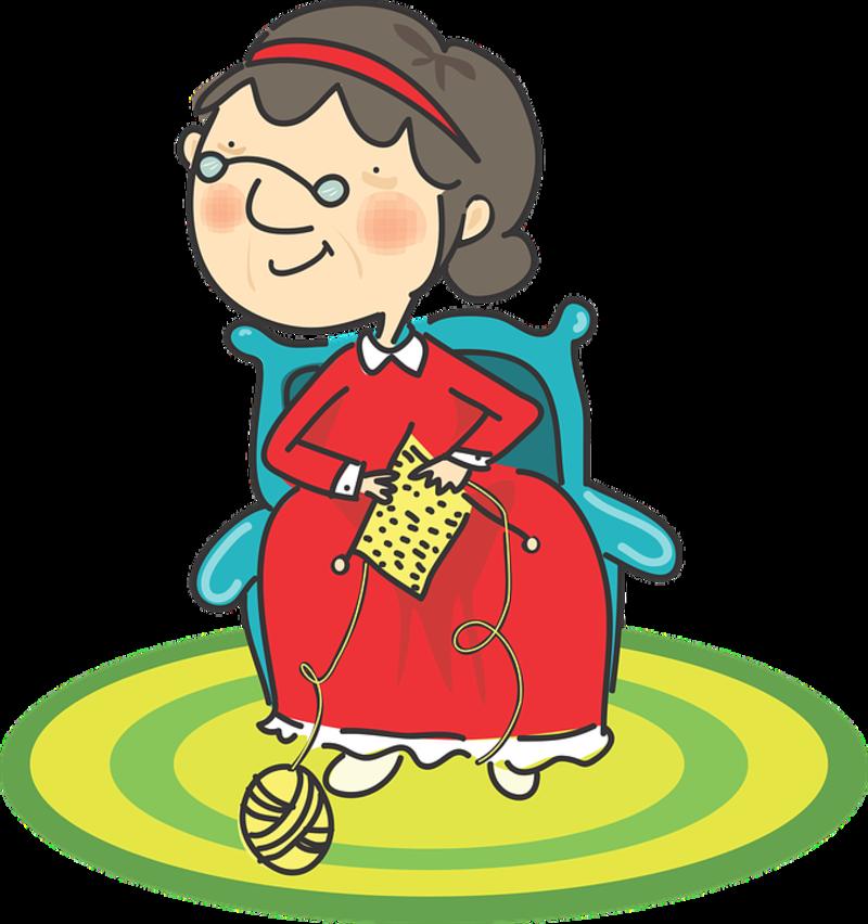 Grandma Knitting Gif : B trucs tubes gifs pour vos creations