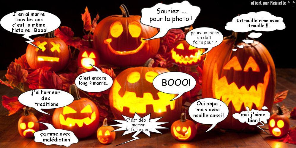 Image avec texte droles de citrouilles halloween - Image halloween drole ...