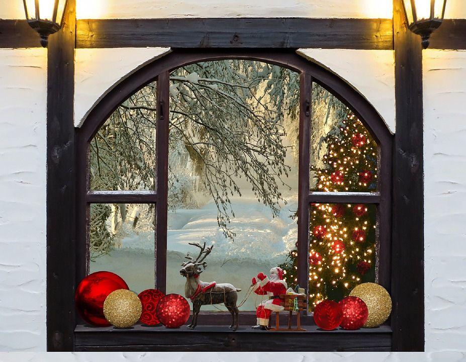 Fen tres hiver neige noel images dont anim es for Fenetre hiver