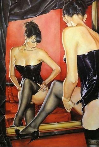 Un miroir de sexe