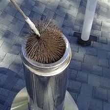 Brosse ramonage cheminée