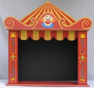 le th atre de marionnettes. Black Bedroom Furniture Sets. Home Design Ideas